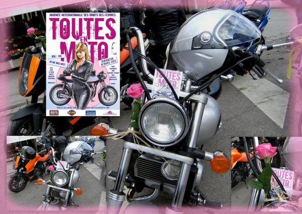 journée de la femme toutes à moto et rendez vous avec  les road's pour la fête de la moto