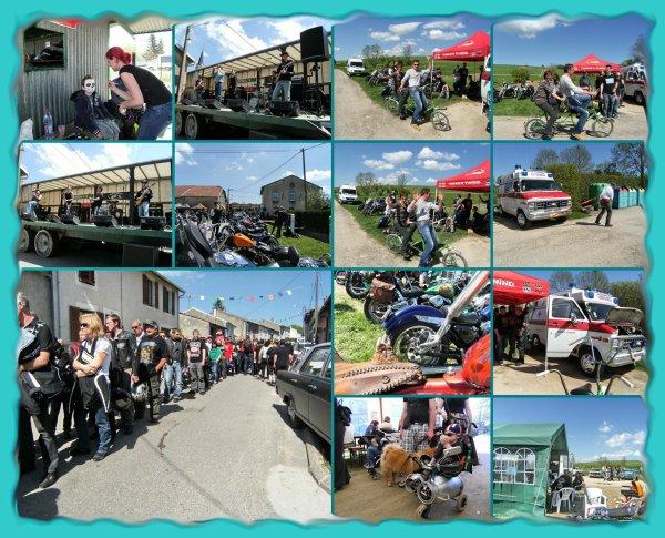 concentration motos à Mécrin (55) le 5 mai 2013