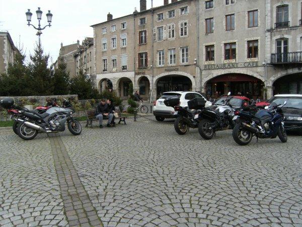 balades moto de décembre, pas courant en Lorraine