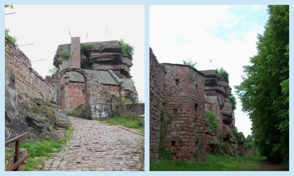 2 mai- château du Haut Barr- Alsace