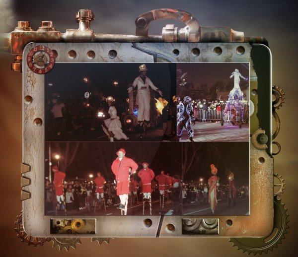 joli défilé de saint Nicolas à Nancy