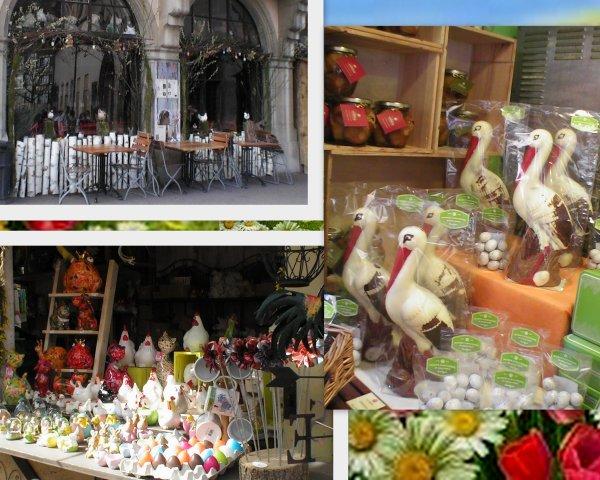 fête de pâques et du printemps à Colmar