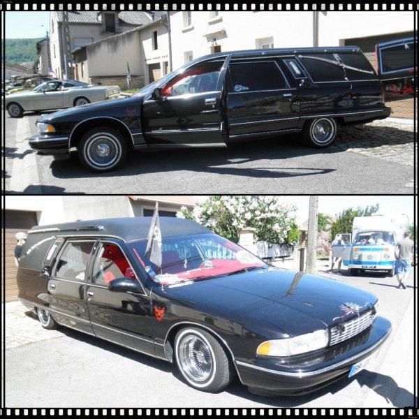 voitures anciennes à Thionville Oeutrange (57)