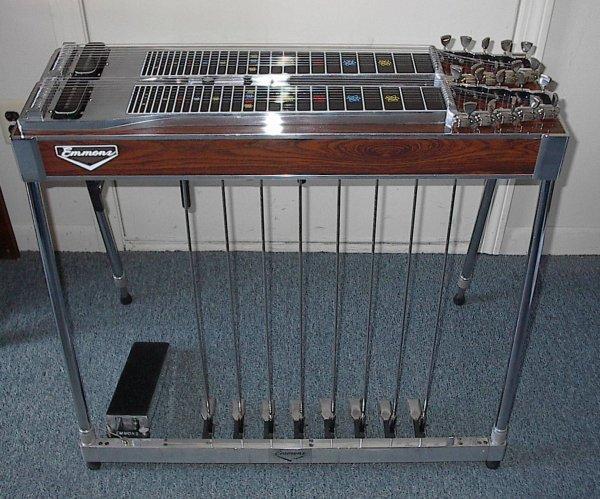 le pedal steel guitar