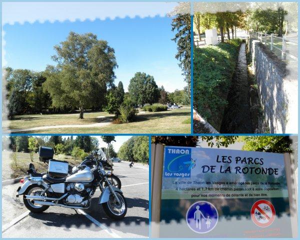balades moto- Thaon les Vosges (88)-  Madine et Lachaussée (55)