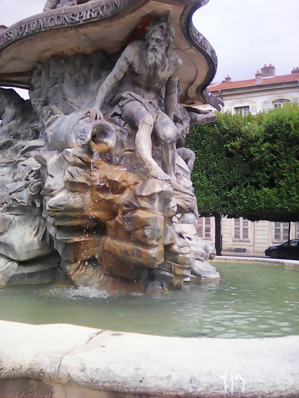 fontaine de la place d'Alliance à Nancy