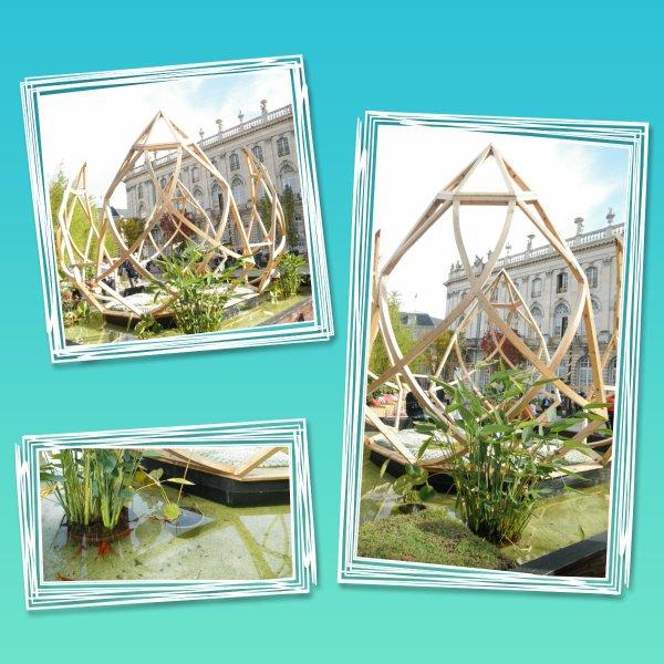 15ème jardin éphémère de Nancy- le Japon
