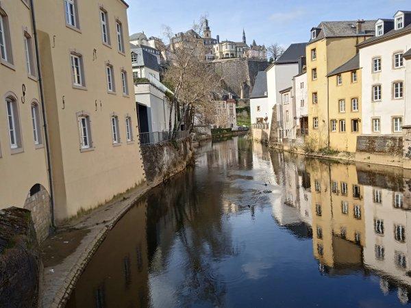 3 avril 2021 - balade au Luxembourg, ville haute avant confinement