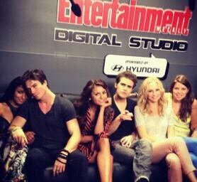 Les photos de groupe au Comic Con