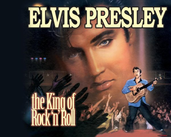 The King of Rock n roll