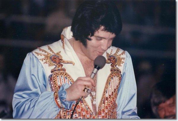 Elvis Presley  Mars 20  1976  (8 30 pm) Charlotte Caroline du Nord.