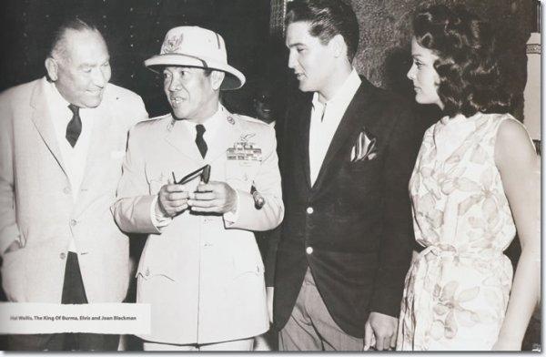 Elvis Presley avec le premier président del'Indonésie Soekarno Kusno