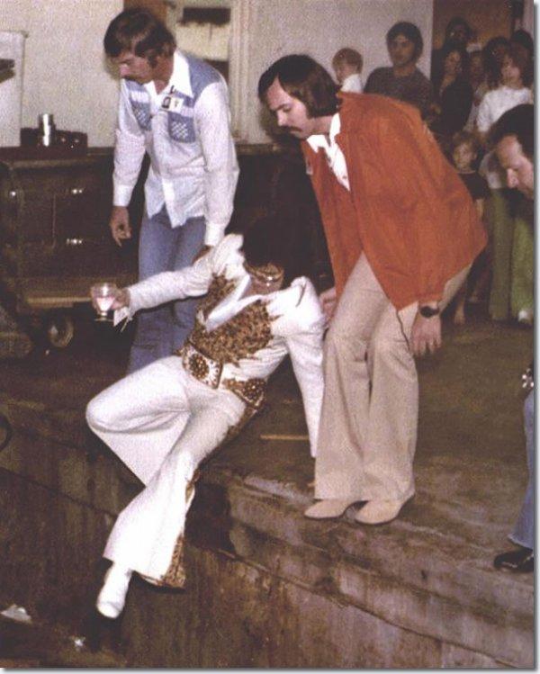 Elvis Presley Macon, Géorgie -Juin 1, 1977