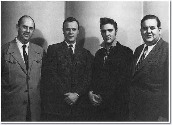 Elvis Presley New York Décembre 1 1955