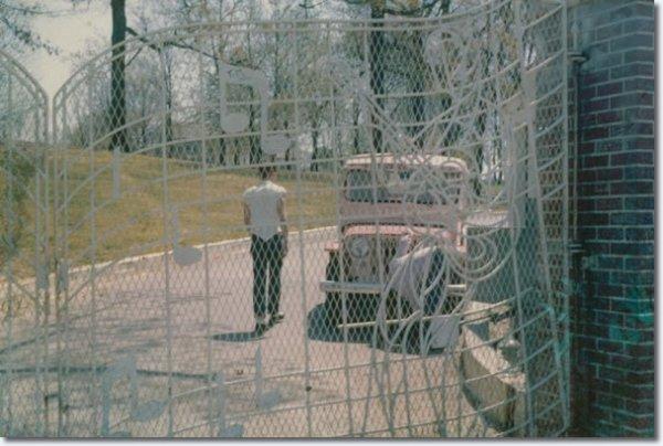 Photos de Graceland - Avril  1962