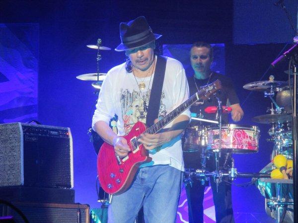 Santana hier soir aux arènes de Nîmes