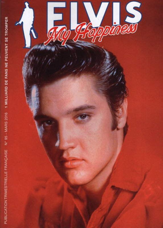 Revue Elvis My Happiness N°95