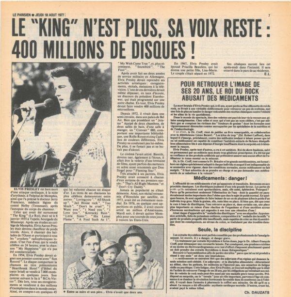 16 août 1977 : à l'annonce de la mort brutale d'Elvis Presley, de nombreux admirateurs décident de partir immédiatement pour Memphis, pour rendre un dernier hommage à leur idole...