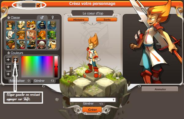 Tuto création personnage : Gérer ces couleurs.