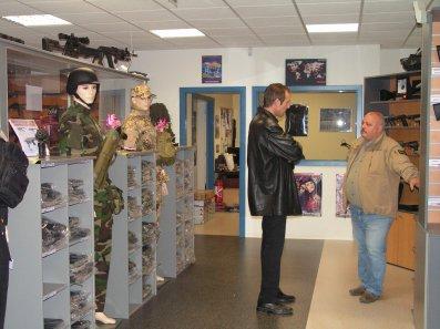 notre visite chez gun évasion