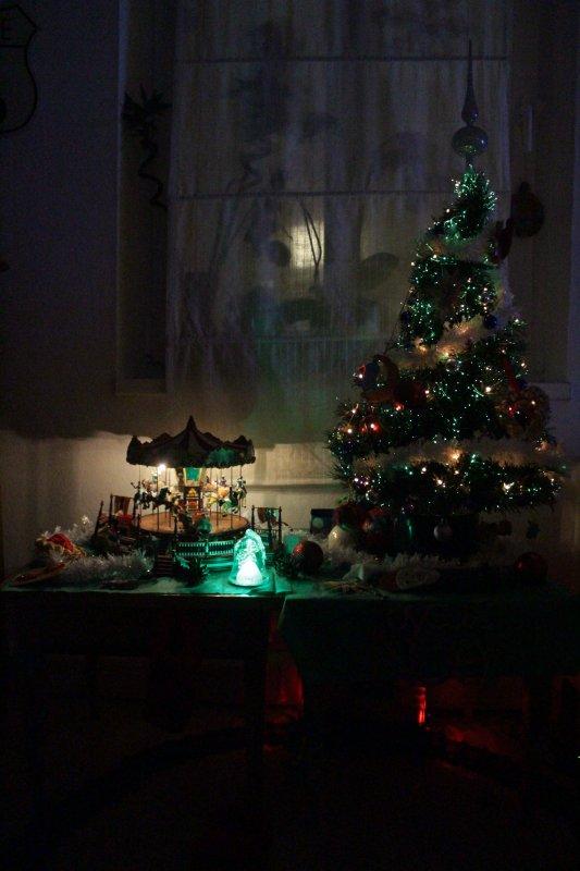 Nôtre sapin de Noël décembre 2016