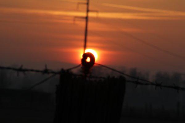 couché du soleil janvier 2017