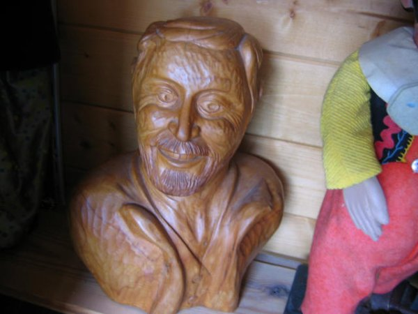 Petite parenthése à un ami, sculpteur dans le bois, partie 1