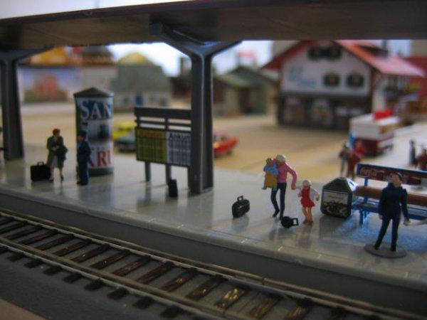 La gare de Schwarzburg :