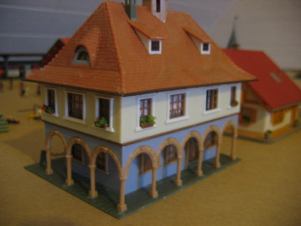 La mairie de Schwarzburg :
