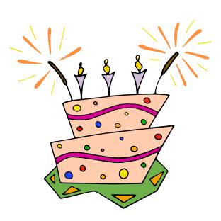 Troisième anniversaire !