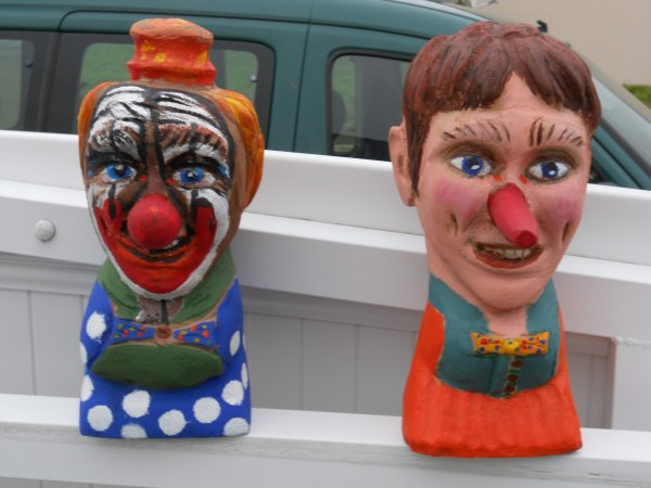 Sculptures sur bois : deux nouveaux personnages !