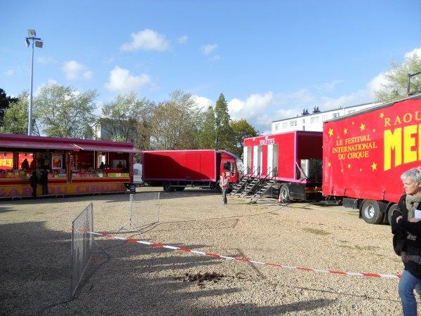 Le cirque Médrano à Auray (56) :