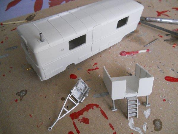 Une nouvelle caravane pour le cirque Bouglione :