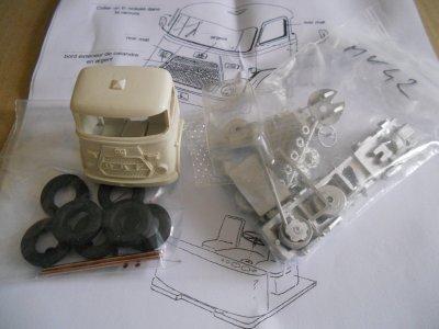 Le tracteur DAF 4.2 :