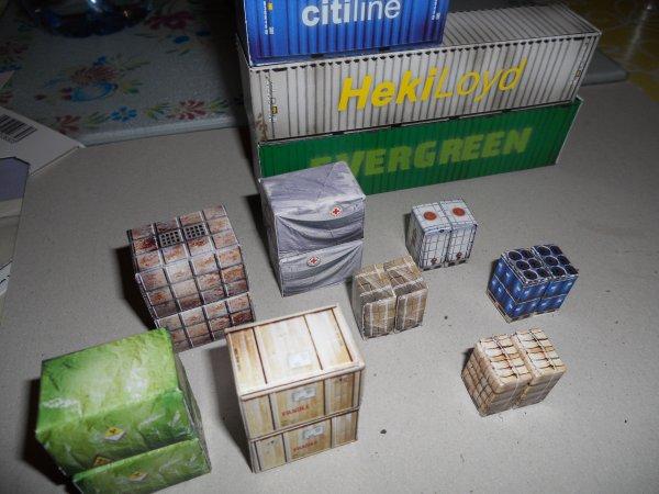 Des containers...remplis de cadeaux !!!