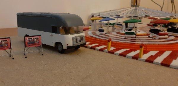 Fourgon forain Citroën :