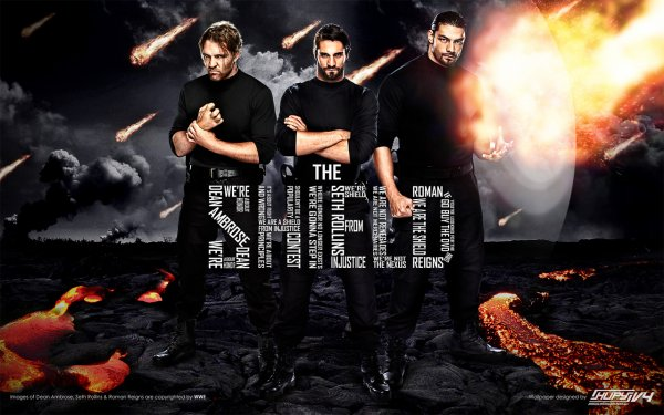 Believe in The Shield of Justice, Seth Rollins, Dean Ambrose, Roman Reigns