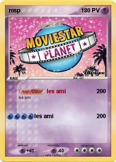 Msp carte pokemon ? ♥