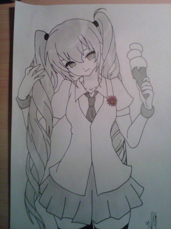 portre de moi dans un manga liseenne