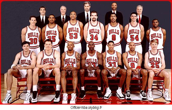 photos officielles b7ca2 34641 News : Les Bulls des années 1995-1996 élu meilleur équipe de ...