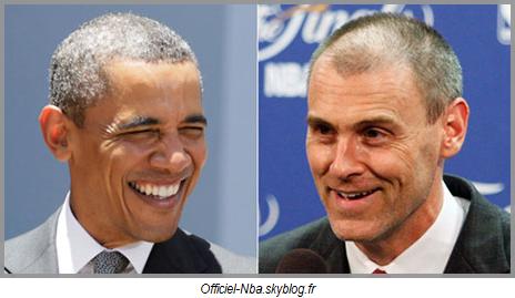 News : Quand Barack Obama congratule Rick Carlisle !