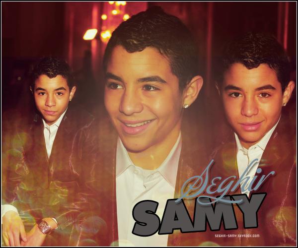 . WWW.SEGHIR-SAMY.SKYROCK.COM  Ta source d'actualité sur le talentueux Samy Seghir ♥ .