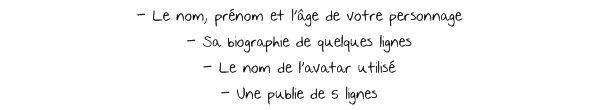 ~ Règlement et Inscriptions ~