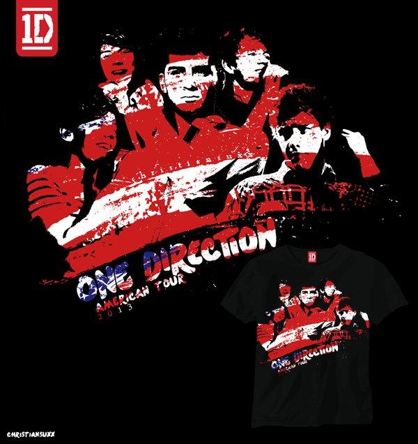 Le t-shirt des one direction