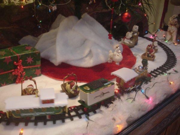 La vitrine de Noël est arrivée!!!