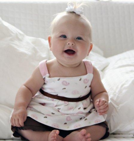 Notre deuxième bonheur: Haley 3 mois