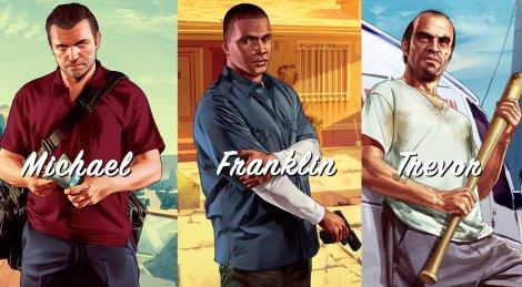GTA V : Les personnages .