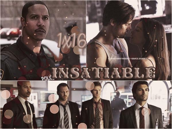 """→ Article # Episode 1x16 """"Insatiable"""""""
