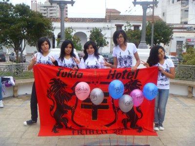 Tokio Hotel Day - Jujuy.Argentina - All Zusammen 16/04/11