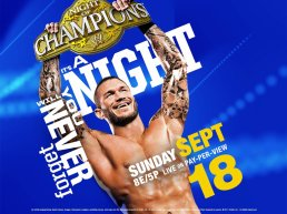 CARTE NIGHT OF CHAMPIONS 2011
